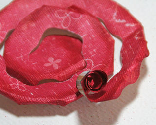 Rose- step 5
