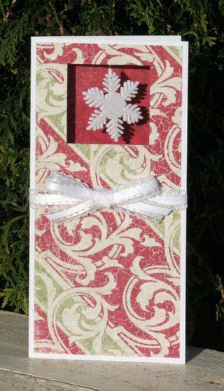 Card- dangle snowflake