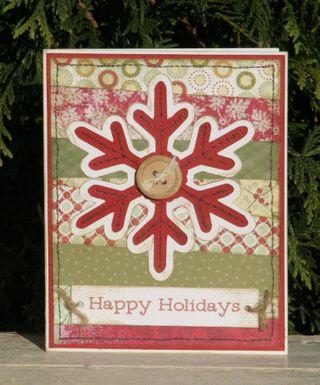 Card- Happy Holidays