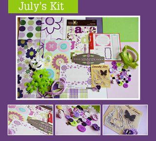 July's kit