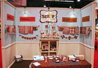 Scrap Within Reach booth