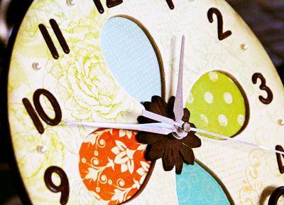 Clock detail
