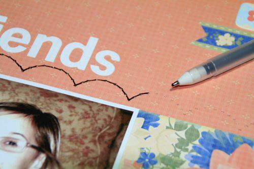 Pen stitch