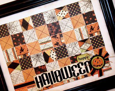 Paper Quilt 2- Halloween