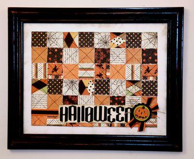 Paper Quilt- Halloween
