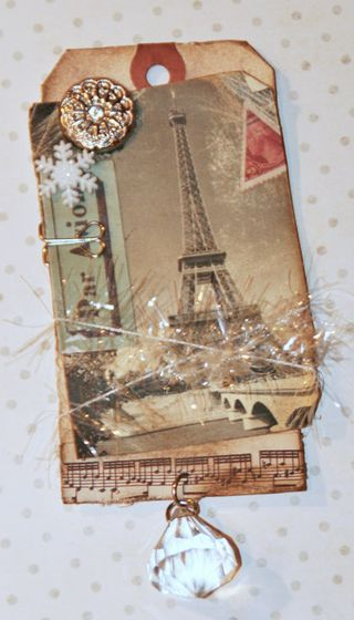 S&G Tags- Eiffel Tower