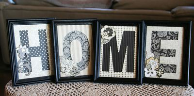 Monogram Chipboard